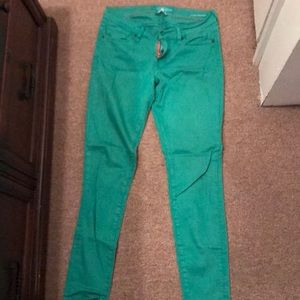 Lucky Brand Jeans - 🍀Lucky Brand Green Skinny Jeans 28